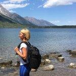 Hiking at Jenny Lake, Teton National Park