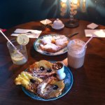 Praline Pain Perdue French Toast with a side order of Beignets - Delicious