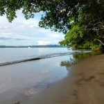 Claro beach at high(ish) tide