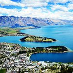 Beautiful view over Christchurch NZ