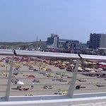 das Hotel von dem Pier