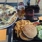 burger et pizza maison