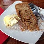 Dorset Apple Cake with Clotted Cream