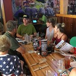 Family dinning at Applebee's Sevierville, Tn