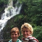 Torc waterfall on the Ring of Kerry tour