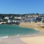 Fabulous holiday in St Ives; tasty food, great B&B and spectacular views from our bedroom window