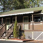 2 bedroom cottage with large covered deck (#4)