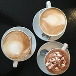 Lattes and Hot Chocolate - yum