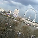 Our view on the Thames side.