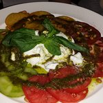 carpaccio tomates mozzarella