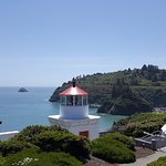 Trinidad Lighthouse less than a mile away!