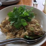 Rice Noodles with Dungeness Crab