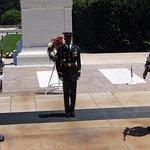 Här finns också den okände soldatens grav.