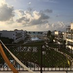 View from the presidential suite at The Royal Playa Del Carmen