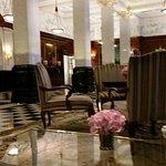 The Savoy Hotel foyer