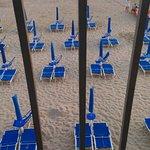Praticamente sulla spiaggia