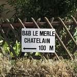 Le Merle Chatelain Foto