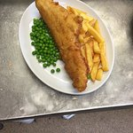 A fine example of traditional Fish and Chips available at the Freshwater Inn.