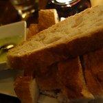 Fresh bread & dip