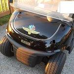 Speedway Golf cart