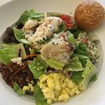 Room Service - Dungeness Crab Cobb Salad - so good!