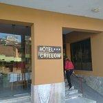 Ingreso al hotel