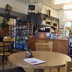 Javalina Coffee House interior seating
