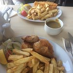 Lovely restaurant. The food was great, traditional fish and chips done well with a selection of