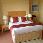 Comfy bed in Room 210