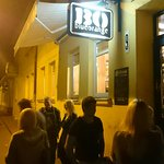 Best bar in kaunas. Lots of different Lithuanian beer! Very friendly to foreigners. Rock music a
