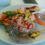 Crayfish salad - definitely worth a try!