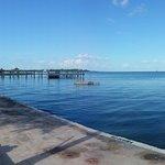 Seawall & pier. From 2013