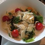 Spinach Salad with Provolone & Holland Tomatoes!
