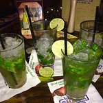 Day 2... More Mojitos!! So good!! Peach Mojito as well in there!