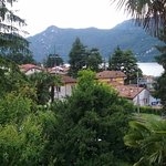 View overlooking Lierna and Lake Como, from the window of our room.
