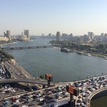 Nile and the 6th of October Bridge