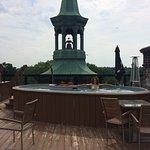 Spa sur le toit le l'hôtel