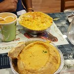 The best seafood!  The lobster Mac and cheese, shrimp chowder bread bowl and all the soups were