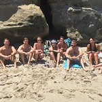 Snorkeling crew at La Jolla Cove!
