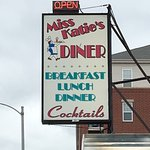 Miss Katie's Diner sign