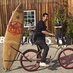 chef jose on the barn bike!