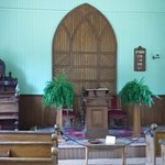 Inside the Methodist Church
