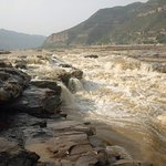 Yellow River above the falls
