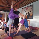 Fun yoga with Iyan Yaspriyana