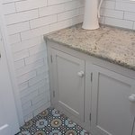 Gorgeous detaile and tiling