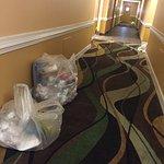 3rd floor hallway on day 3
