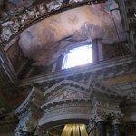 "top part of Bernini's ""St Teresa of Avila in Ecstasy"""