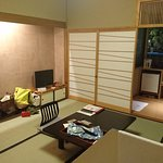 8 tatami room with onsen
