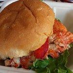 Un delizioso lobster burger