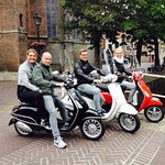 Touring to Delft